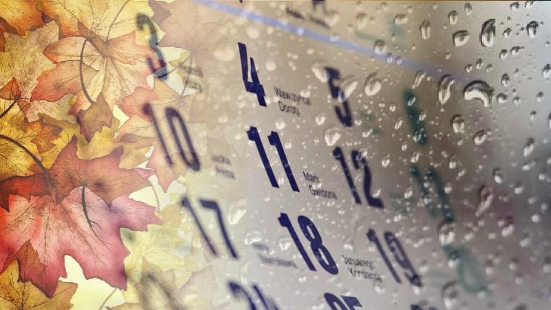 Grudniowa kartka z kalendarza