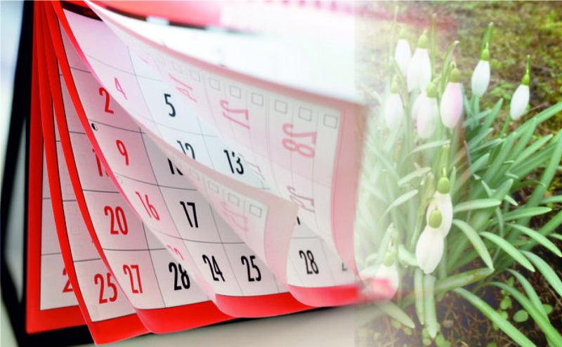 Tak minął nam luty… Kartka z kalendarza